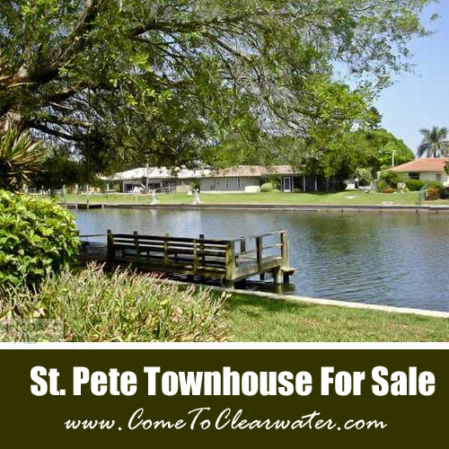 St Pete Townhouse For Sale - 6537 Cape Hatteras Way