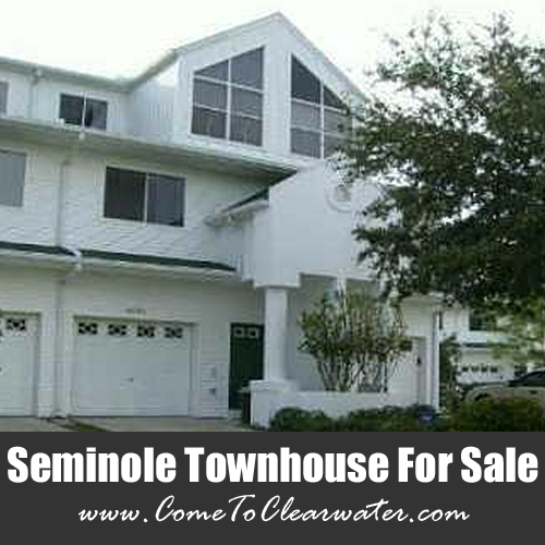 Seminole Townhouse for Sale - 9678 Indian Key Trail