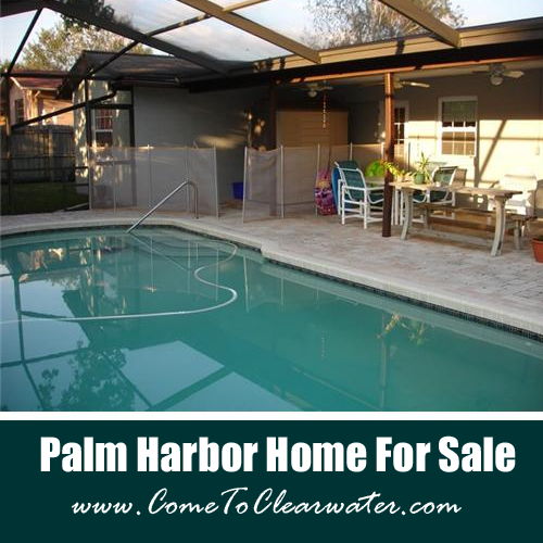 Palm Harbor Pool Home For Sale - 942 Harbor Circle