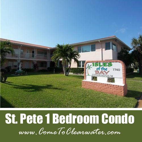 St Pete One Bedroom Condo For Sale