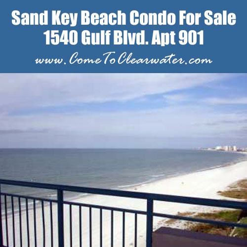 Sand Key Beach Condo For Sale - 1540 Gulf Blvd