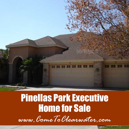 Pinellas Park Executive Home For Sale - Short Sale