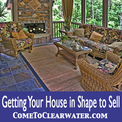 Getting Your House in Shape to Sell | Home Staging Clearwater St Pete