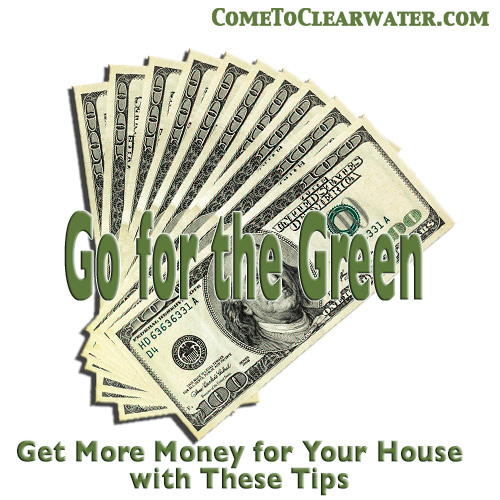 Go for the Green - Get More Money for Your House with These Tips