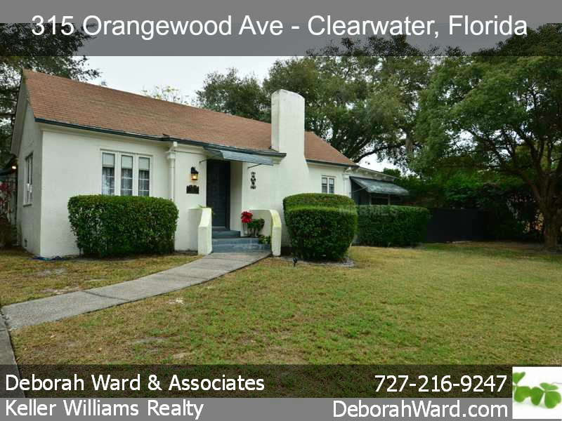 Historic Clearwater Florida Home For Sale
