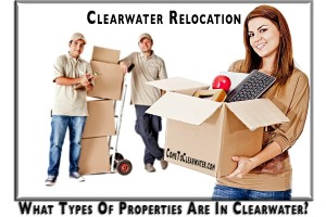Clearwater Relocation | What Types Of Properties Are In Clearwater?