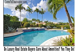 Do Luxury Real Estate Buyers Care About Amenities? Yes They Do!