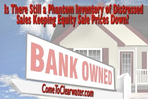 Is There Still a Phantom Inventory of Distressed Sales Keeping Equity Sale Prices Down?