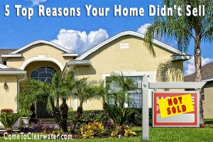 The 5 Top Reasons Your Home Didn't Sell - Clearwater Home Sales