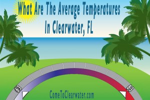 What Are The Average Temperatures In Clearwater, FL