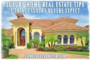 Luxury Home Real Estate Tips - 5 Things Luxury Buyers Expect