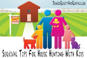 Survival Tips For House Hunting With Kids | Buying A House