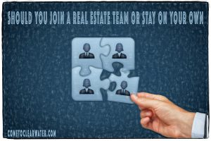 Should You Join a Real Estate Team or Stay on Your Own