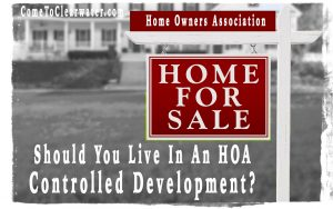 Should You Live In An HOA Controlled Development?