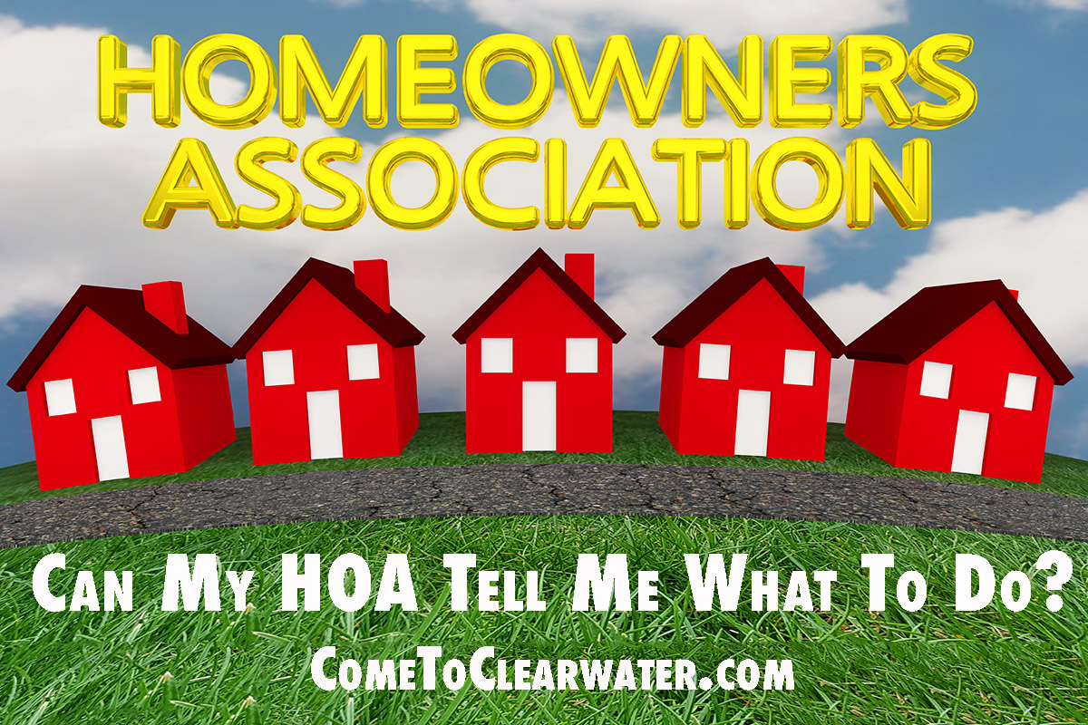 Can My HOA Tell Me What To Do?
