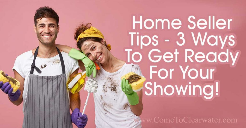 3 Ways To Get Ready For Your Showing! - Home Seller Tips... It's finally time to get your home shown! Do you know what you should be doing before you leave to let the Realtor show it? Here are some great ideas on how to make your home show perfect.